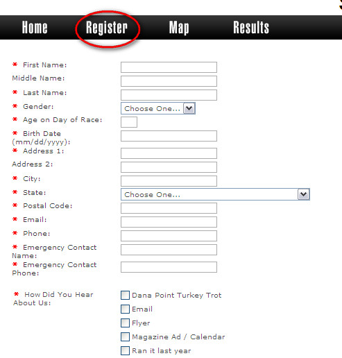 Gensther Tattoo Registration Form Template – Registration Form Template Microsoft